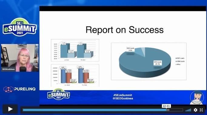 Jenn Mathews on enterprise SEO success
