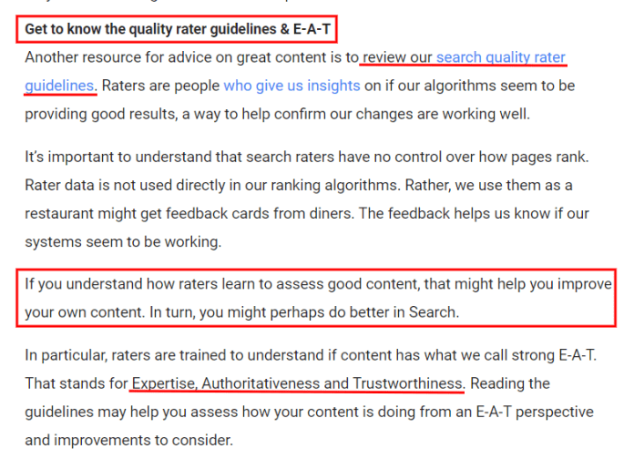 Search Quality Rater Guidelines andE-A-T (Expertise, Authoritativeness, Trustworthiness)