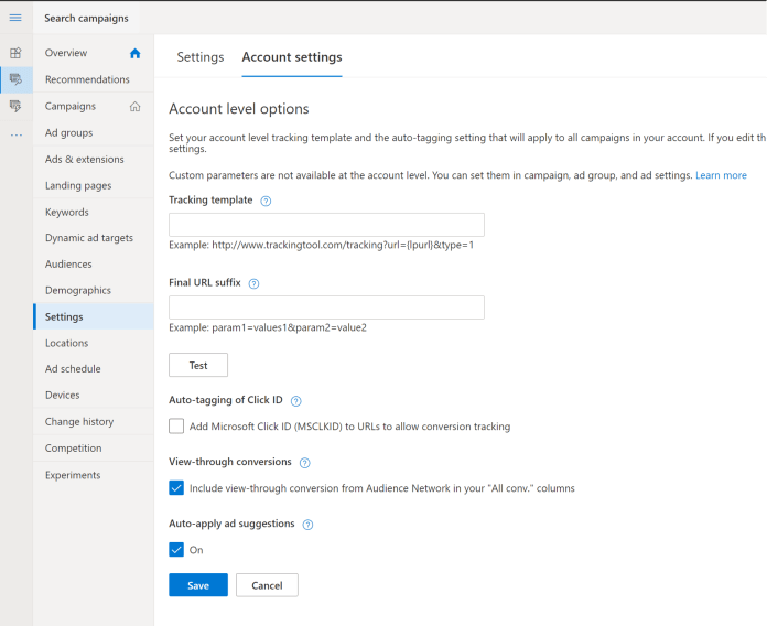Opt Out of Microsoft Auto Apply Ad Suggestions