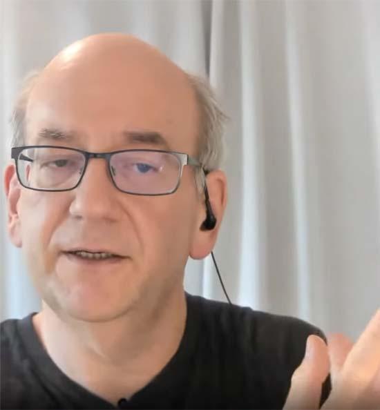 Screenshot of Google's John Mueller
