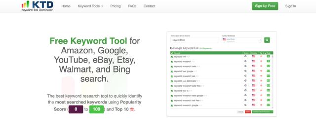 Keyword Tool Dominator uncommon keyword research tool.