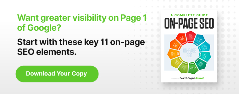 On-Page SEO Guide: Strategy, Trends & Expert Advice [Ebook]