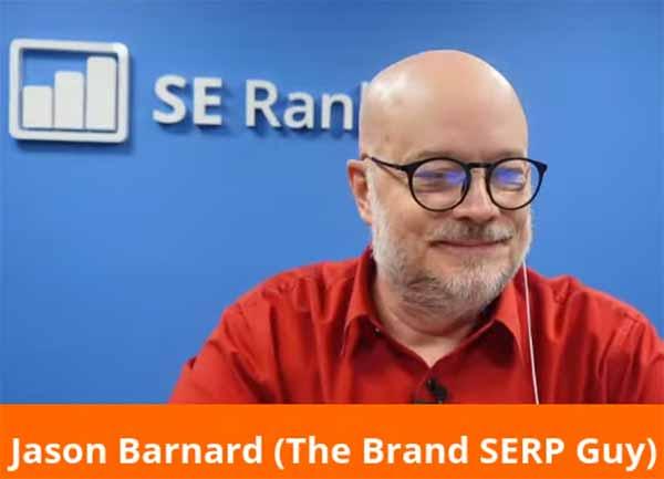 Jason Barnard listening to Martin Splitt of Google
