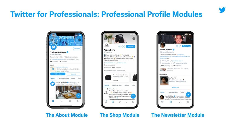 twitter professional profile