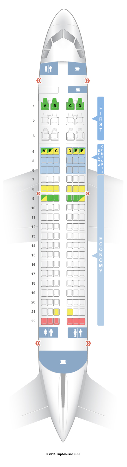 Airbus 319 Seating Chart