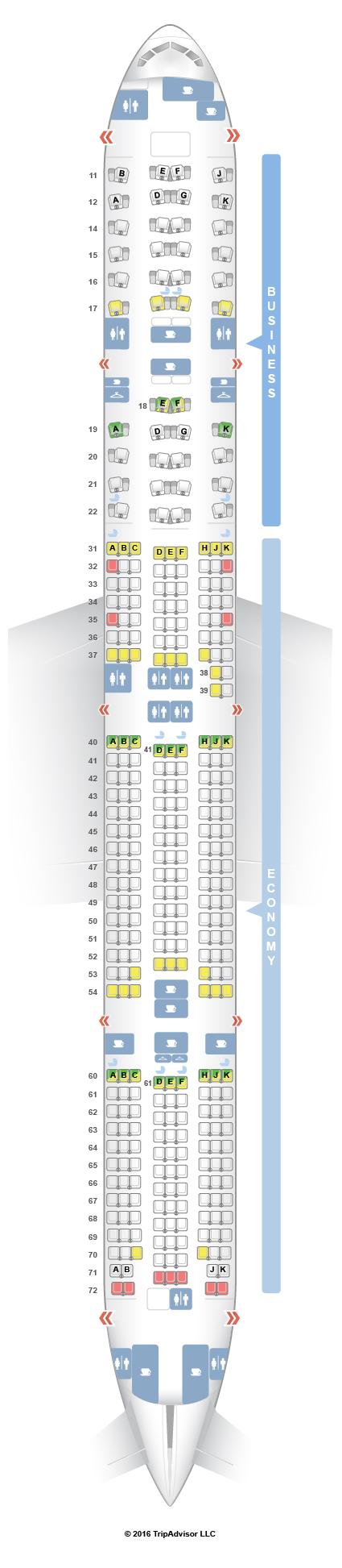 Seating Plan Boeing 777 300er Qatar | Brokeasshome.com