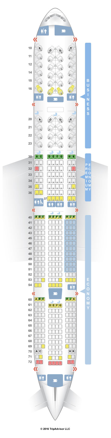 Seat Map Boeing 777 300er American Airlines Brokeasshome Com