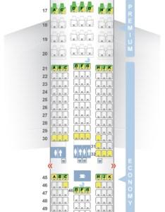 Seat  class type power video review also seatguru map el al boeing rh