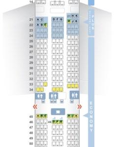 Seat  class type power video review also seatguru map el al boeing er  rh