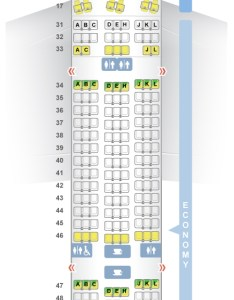 Seat  class type power video review also seatguru map air china boeing er  rh