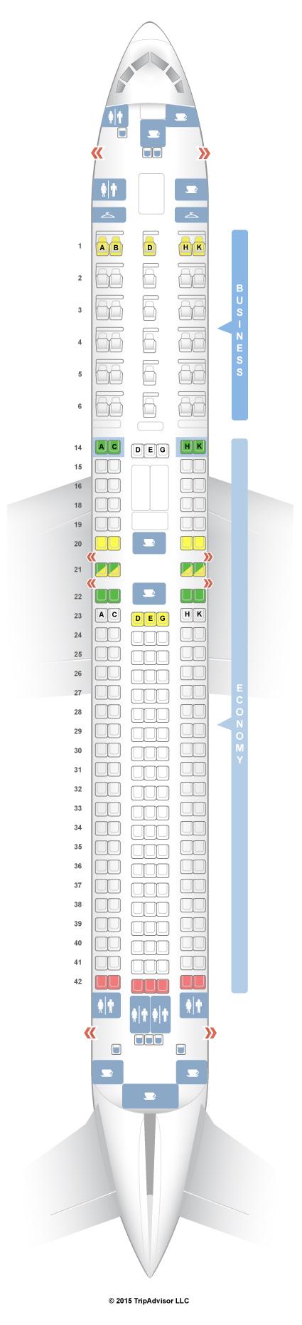 Lan Chile B767 300 Seat Map Brokeasshome Com