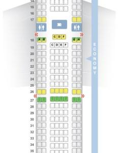 Seat  class type power video review also seatguru map nordwind airlines boeing er rh