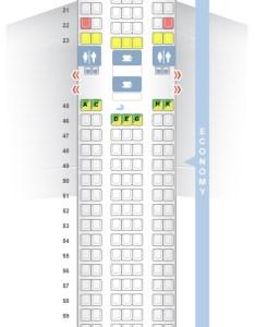 also seatguru seat map japan airlines boeing er   rh