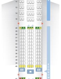 Seat  class type power video review also seatguru map korean air boeing er   rh
