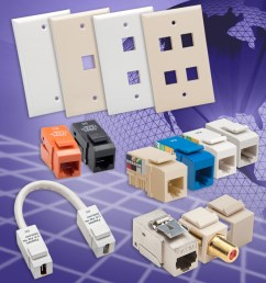 eia tia 568a b wiring easy they feature 50 micron gold contacts meet exceed eia tia category standards they are compatible with industry standard  [ 960 x 960 Pixel ]