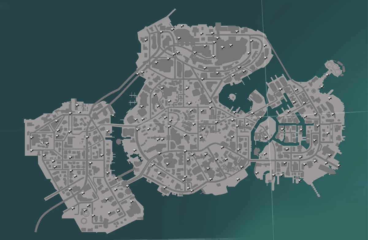 Sunset Overdrive Security Cameras Locations Map Big