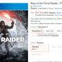 Rise Of Tomb Raider Coming To Ps4 Listed By Amazon