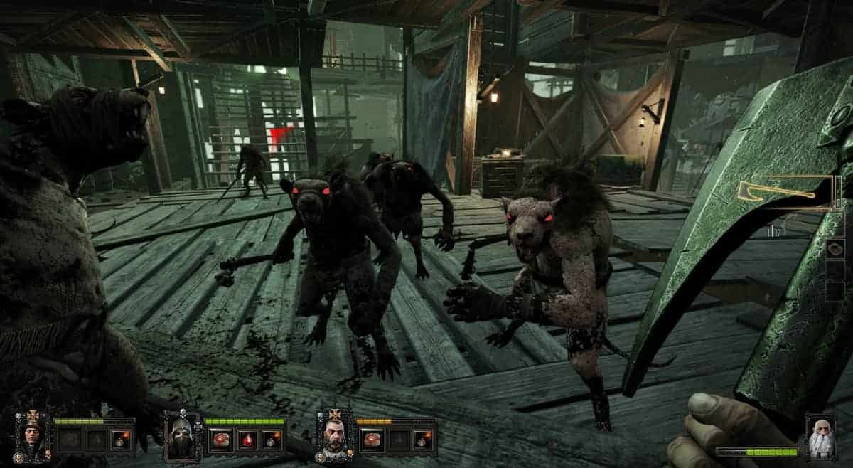 Warhammer End Times Vermintide Xbox One Gameplay Footage