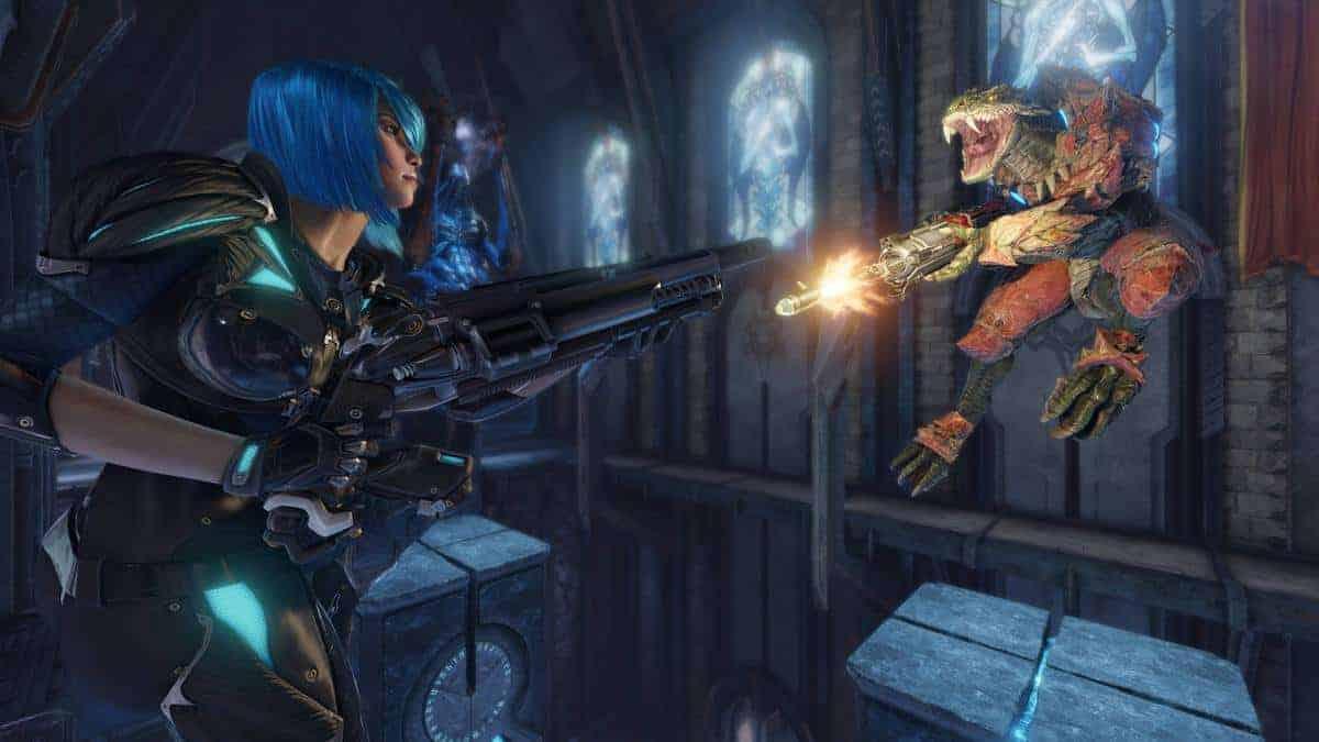 New Quake Champions Screenshots Show The Power Of Id Tech
