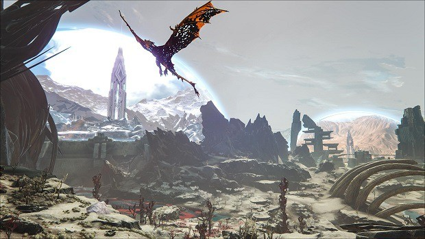Epic Titan Fall Wallpaper Ark Extinction Corrupted Creatures Locations Guide