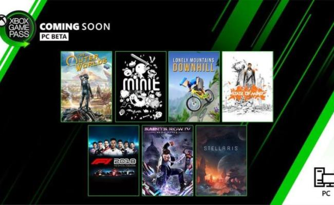 The Outer Worlds And 6 Other Games Will Be Added To Xbox