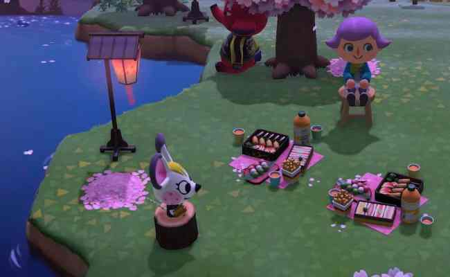 Animal Crossing New Horizons Cherry Blossom Diy Recipes