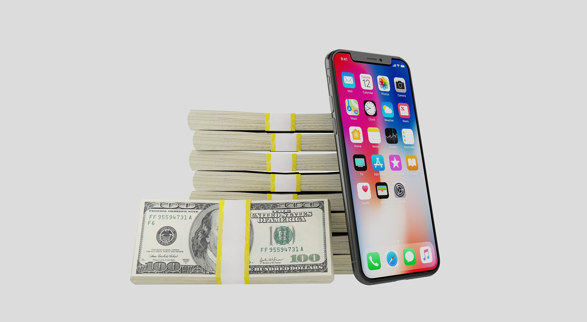 iphone money image