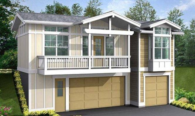 Car Garage Plans With Apartment Above