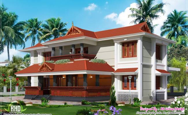 Kerala Traditional Style House Design Second Sun Home
