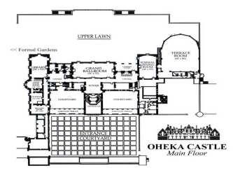 castle medieval plans floor designs blueprints enlarge