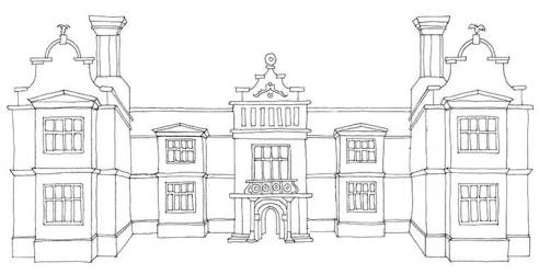 manor medieval floor plan plans enlarge blueprints