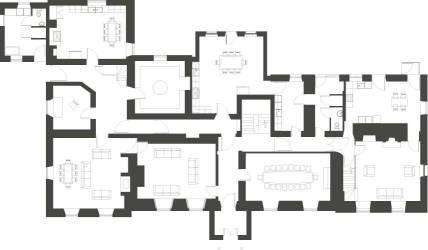 manor medieval floor plan restormel lostwithiel layout ground plans enlarge