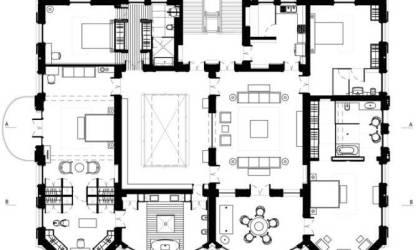 plan manor medieval floor plans blueprints