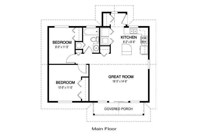 Simple House Floor Plans Escortsea