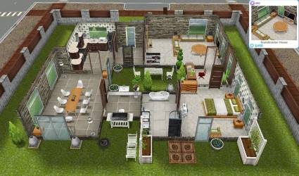 Sims Freeplay Quests Tips Scandinavian House Home Plans & Blueprints #48685