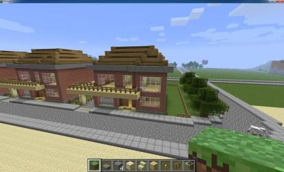 Small Beach House Minecraft Project Home Plans & Blueprints #25719