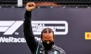 Lewis Hamilton winning the Styrian GP