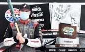 Cole Custer after his first NASCAR Cup win