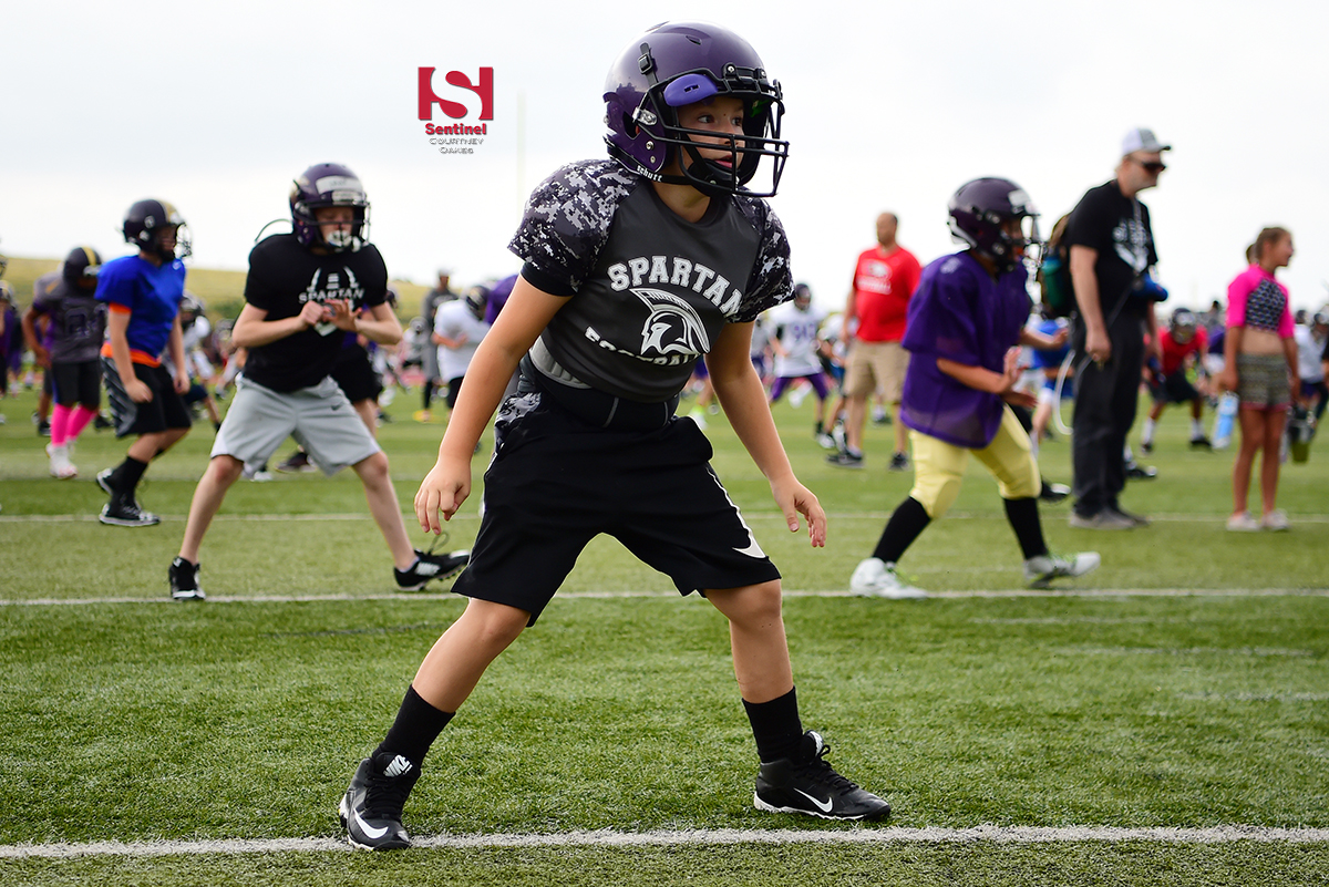 Football GALLERY  2018 Spartans Youth Football Camp