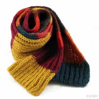 Winter Knits - Warm Wooly Scarf