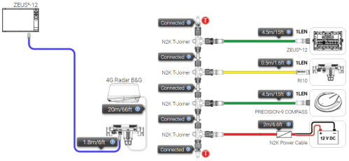 small resolution of it also receives heading data via ethernet directly via an mfd an example of this is shown later