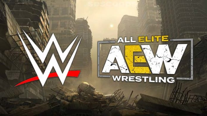 Image result for wwe vs aew