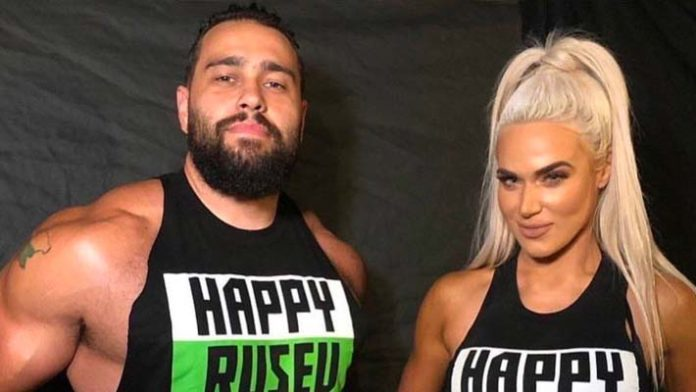 Image result for Rusev and Lana images