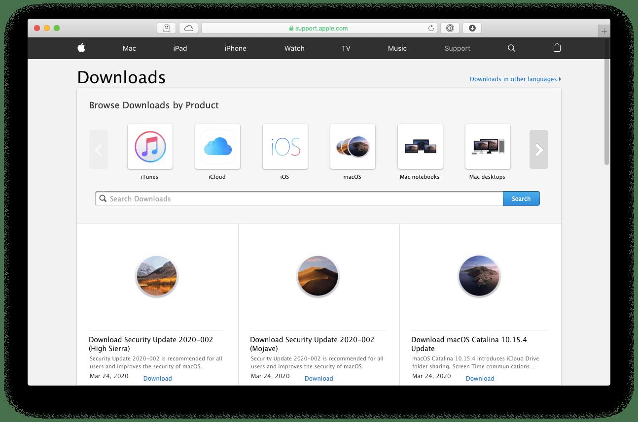 1️⃣ Was tun, wenn das macOS-Setapp-Update nicht