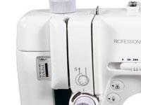 Janome MC6500P Pressure regulator with visible pressure gauge