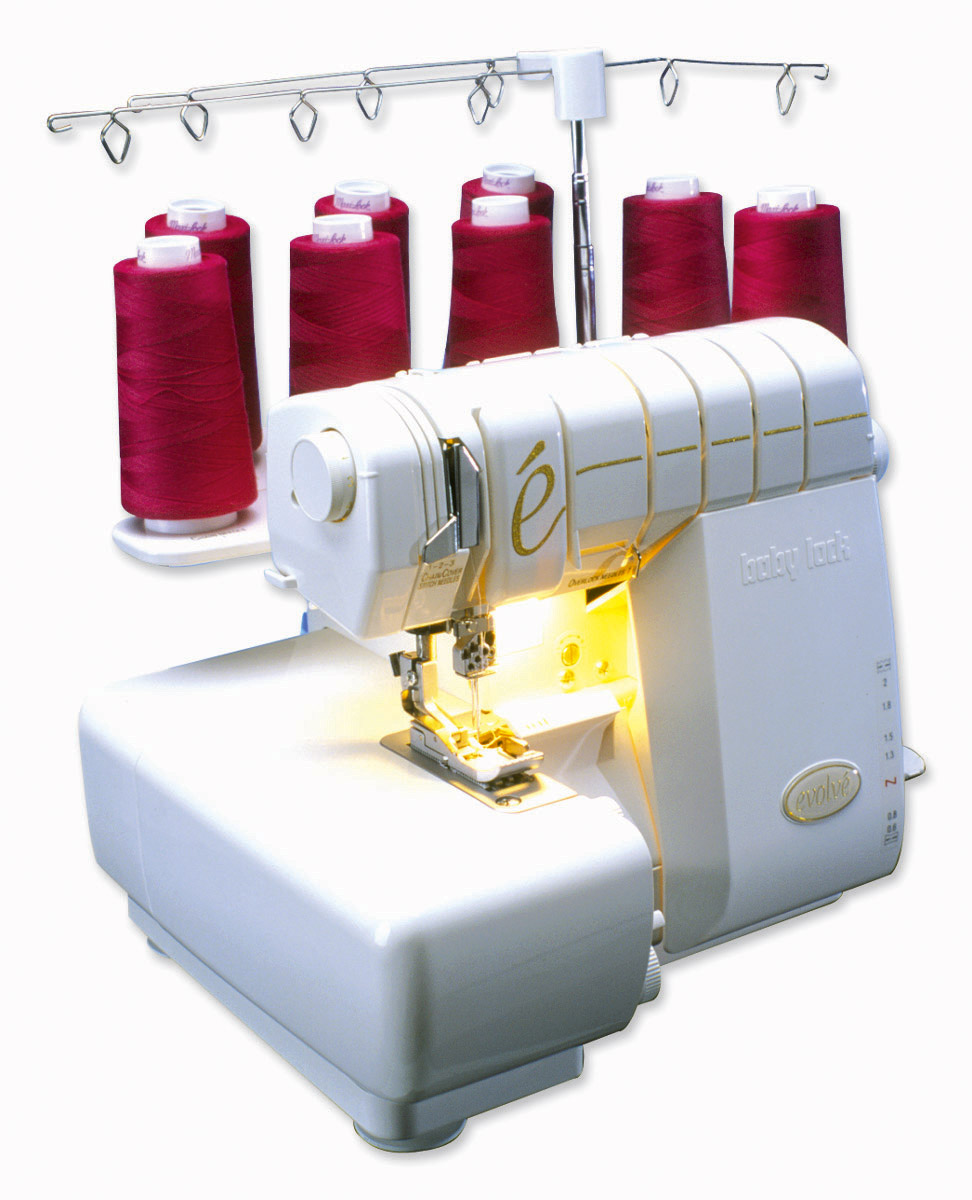Babylock Evolve : babylock, evolve, BabyLock, Evolve, Serger, BLE8W