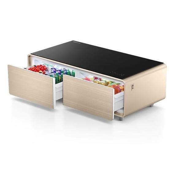 yamada smart coffee table fridge digital music player usb port