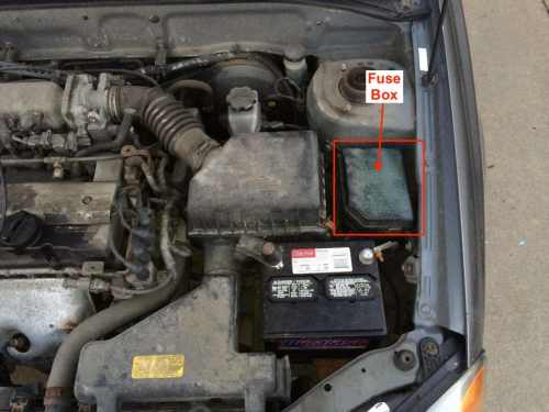 small resolution of engine compartment fuse box location