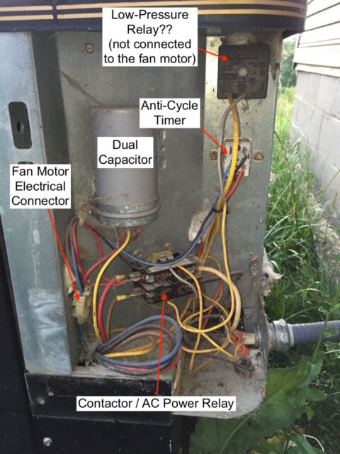 Capacitor Wiring Diagram Also Ac Fan Motor Capacitor Wiring Diagram