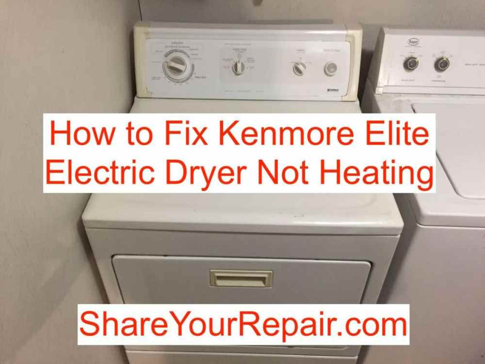 medium resolution of photos of kenmore 80 series gas dryer not heating
